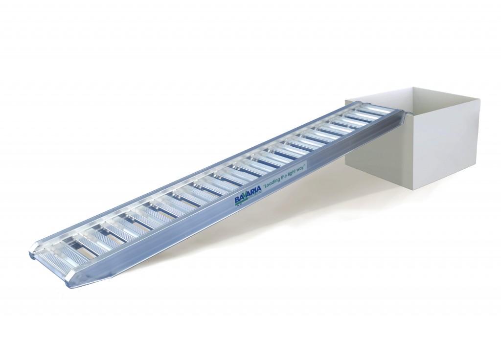 Rampas de aluminio con capacidad hasta 50 toneladas. Calidad Certificada
